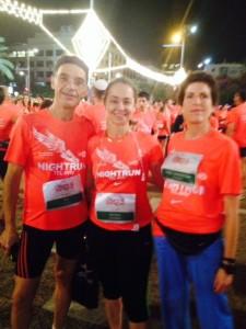מרוץ נייקי 2013, עם סוניה ודוד, לפני המרוץ