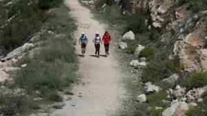 דניאל קרן, גלעד קראוז ועדן פז בריצה מהסטף לפארק קנדה