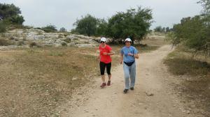 ריצה בבן שמן, עם סוניה. צילום: איתן דביר