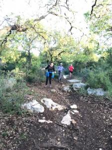 ריצה? טעם החיים! כמה נפלא לרוץ ביער אלונה! צילום: פליקס