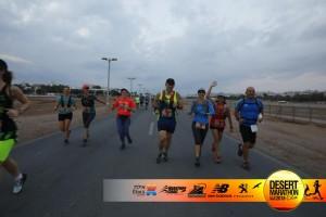 לרוץ עם חברות - ריצה עם אפרת ידין ויעל נשגב בתחילת המרוץ.
