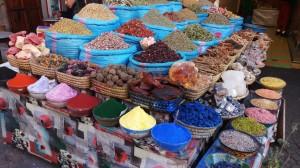 השוק הצבעוני במרקש. צילמה: בלהה מנדילוביץ