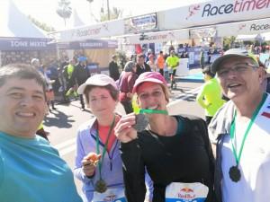 סיום המרוץ - עם יעל נשגב.